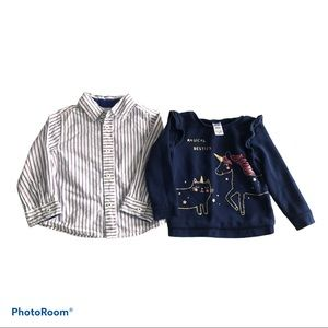 Carter's & First Impressions Girl's Bundle Tops